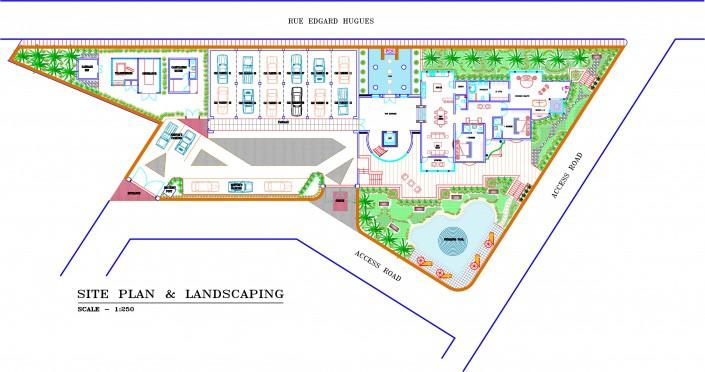 Site Plan & Landscaping